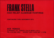 Frank Stella : High-Relief Aluminum Paintings