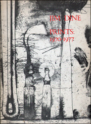 Jim Dine, Prints: 1970 - 1977