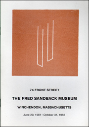 74 Front Street / The Fred Sandback Museum / Winchendon, Massachusetts