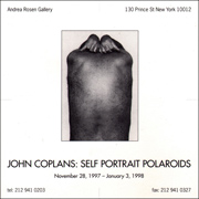 John Coplans : Self Portrait Polaroids