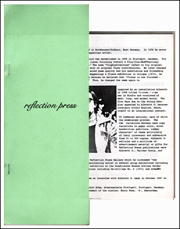 Steven Leiber, Catalog 33 : Reflection Press