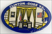 Clinton - Gore '92 Campaign Button