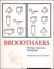 Broodthaers : Writings, Interviews, Photographs