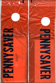 Two Pennysaver Bags Containing Ray Johnson Art and Ephemera