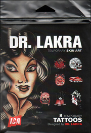 Dr. Lakra Temporary Skin Art : 8 Temporary Tattoos Designed by Dr. Lakra