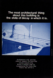 Manifesto 3 : Advertisements for Architecture, 1976