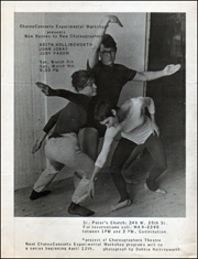ChoreoConcerts Experimental Workshop Presents New Dances by New Choreographers : Keith Hollingworth, Joan Jonas, Judy Padow
