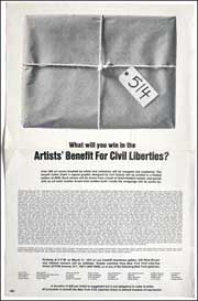 What Will You Win in the Artists' Benefit for Civil Liberties?