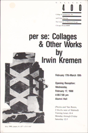 per se : Collages & Other Works by Irwin Kremen