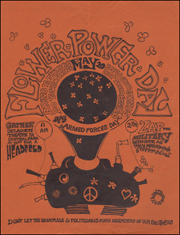 Flower Power Day : Bring Yr Things / Do Your Thing / Blow Their Minds / Not Their Bodies / DIS Armed Forces Day