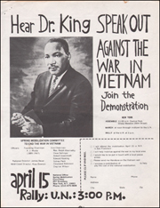 Hear Dr. King Speak Out Against the War in Vietnam