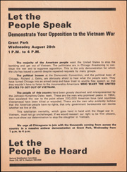 Let the People Speak : Demonstrate Your Opposition to the Vietnam War / Let the People Be Heard