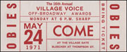 The 16th Annual Village Voice Off-Broadway Awards