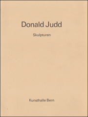 Donald Judd : Skulpturen