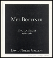 Mel Bochner : Photo Pieces 1966 - 1967
