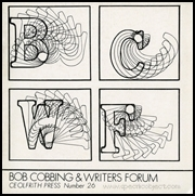Bob Cobbing & Writers Forum : Ceolfrith Press Number 26
