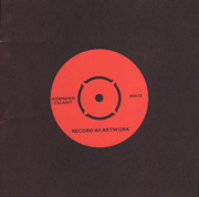 Record As Artwork 1959 - 73