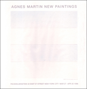 Agnes Martin : New Paintings