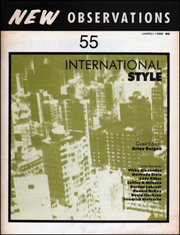 New Observations : International Style