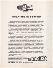 Theatre in Context