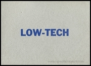 Low-Tech : An Exhibition by Coracle Press at RMAS