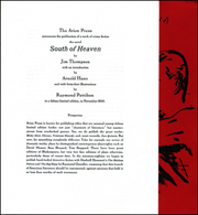 Prospectus for South of Heaven