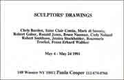 Sculptors' Drawings