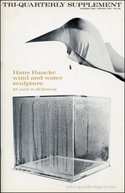 Tri-Quarterly Supplement : Hans Haacke Wind and Water Sculpture