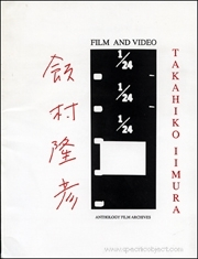 Takahiko Iimura : Film and Video