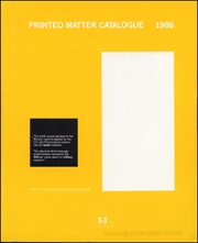 Printed Matter Catalogue 1986