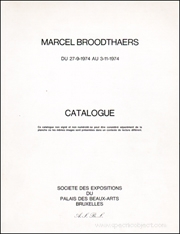 Marcel Broodthaers : Catalogue