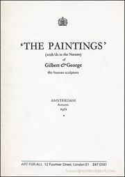 'The Paintings' (With Us in the Nature) of Gilbert & George the Human Sculptors