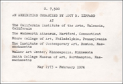 C. 7,500 : An Exhibition Organized by Lucy R. Lippard [ aka : c. 7500 ]