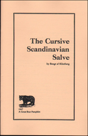 The Cursive Scandinavian Slave