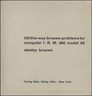 100 this-way-brouwn-problems for computer I. B. M. 360 model 95