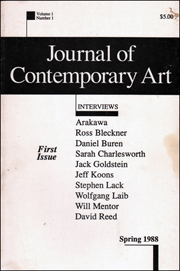 Journal of Contemporary Art : Interviews