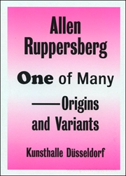 Allen Ruppersberg : One of Many -- Origins and Variants
