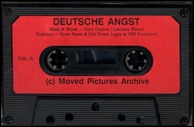 Deutsche Angst / The Memories of Stu Irwin