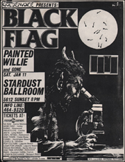 [Black Flag at the Stardust Ballroom / Sat. Jan 11]